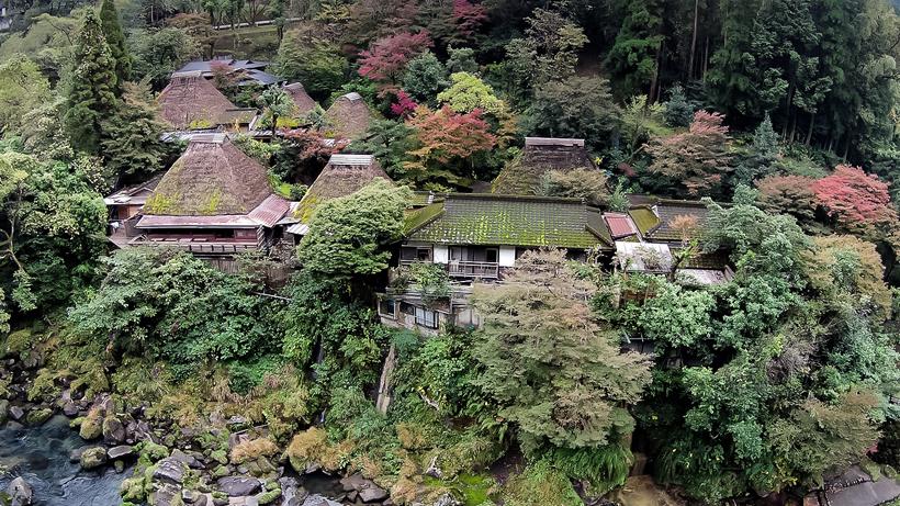"""""""Wasure no sato Gajoen"""" Myoken Onsen, Kagoshima pref. JAPAN"""
