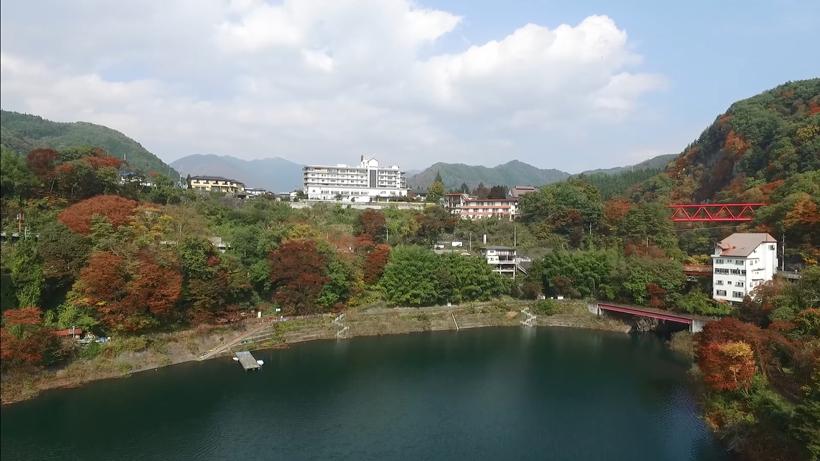 """Sarugakyo Hotel"" Sarugakyo Onsen, Gunma pref. JAPAN"
