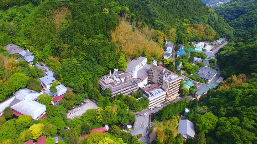 """""""Hotel SANSUIROU""""Yugawara-Onsen, Kanagawa pref. JAPAN"""